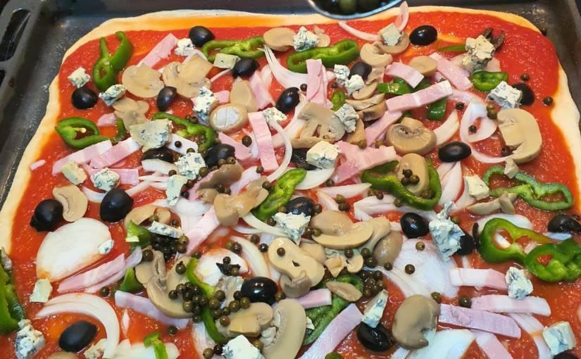 Pizza Casera: